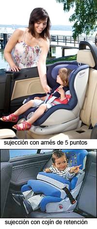 Cinco motivos para utilizar el arnés de 5 puntos en las sillitas auto