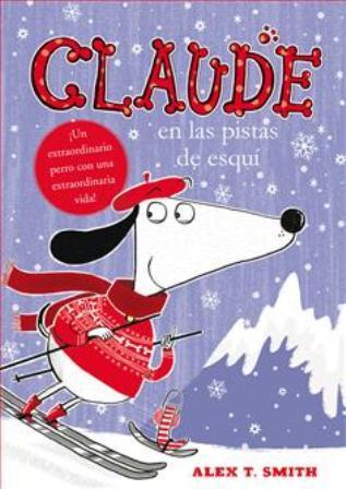 Claude en las pistas de esquí
