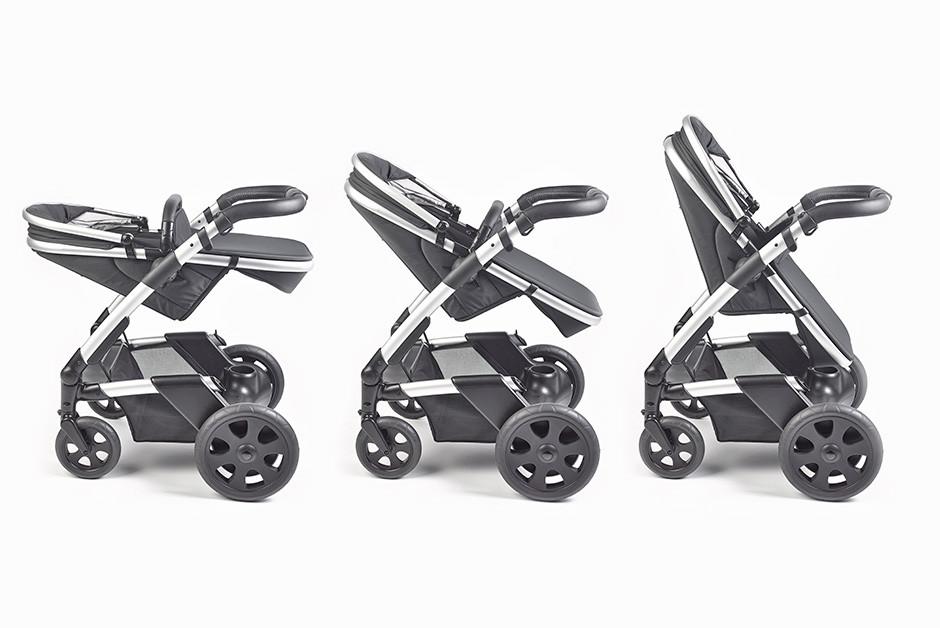 Un nuevo carrito de bebé que revoluciona el mercado