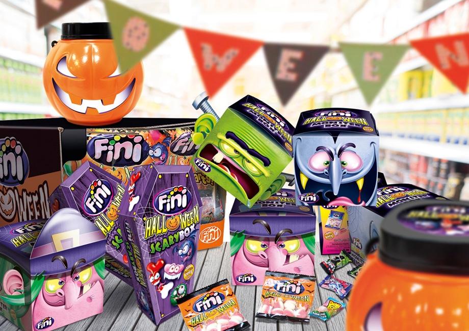 ¡Llega el truco o trato más aterradoramente dulce con Monsterbox de Fini Golosinas!