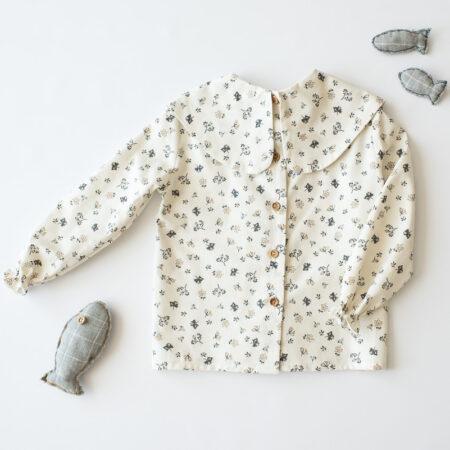 Camisa Covadonga cuello bobo
